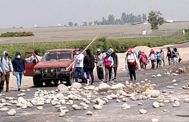 Ministerio Público se hizo presente en Paro Agrario contra abusos de agroexportadoras en Ica